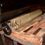 Serpentina de cobre aletada