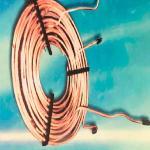 Serpentina de cobre para compressor